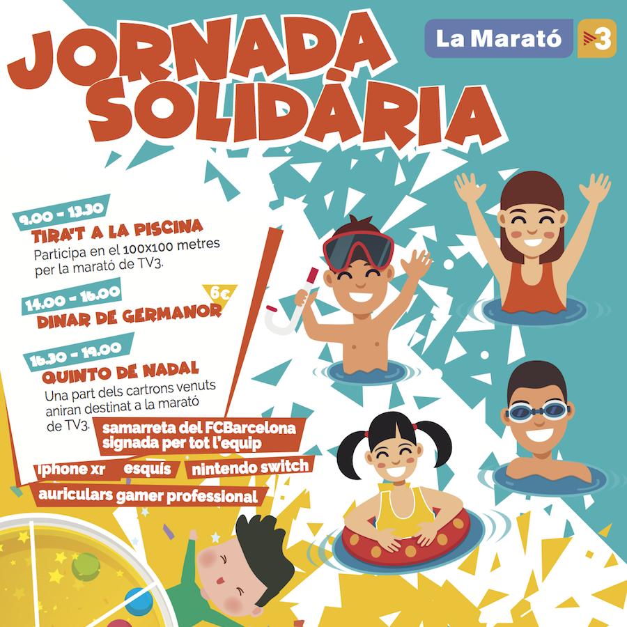 (COL·LEGI) JORNADA SOLIDÀRIA AMB LA MARATÓ DE TV3
